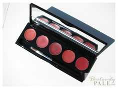 Make Up For Ever 5 Lipstick Palette in No 3 Coral Harmony ~ Swatches, Photos, Review |Perilously Pale