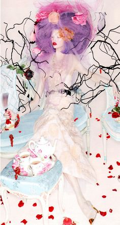 Karlie Kloss   Nick Knight   W October 2012   SweetEscape