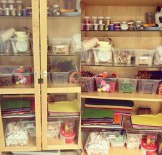 IMG_4377 Space Preschool, Diy Classroom Decorations, Reggio, China Cabinet, Montessori, Kindergarten, Storage, Inspiration, Tips