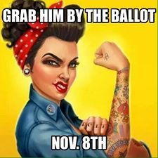 Nasty Women Unite & VOTE WITH HER!
