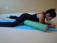 Stretch Your Groin Region Using a Foam Roller
