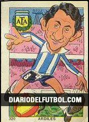 1976 Osvaldo Ardiles - Argentina