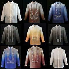 These barongs are on sale. Get these special deals today. Wedding Dreams, Dream Wedding, Barong Tagalog, Filipiniana Dress, Jose Rizal, Line Shopping, Deal Today, Entourage, Special Deals