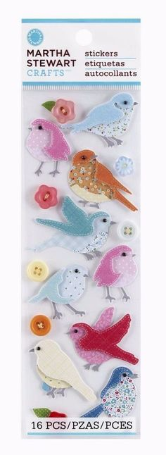 Our Family Tree Birds Leaves Branches Jolee/'s 3D Stickers