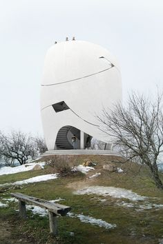 Rocking Stone Belvedere | Barna D. Kovacs | Archinect