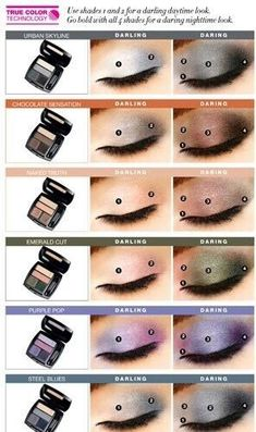 Use shades 1 and 2 for a darling daytime look or Go Bold with all 4 shades for a daring night time look. - Matte Eyeshadow Quad - All matte numbered shades. #eyeshadow #matte #makeup www.youravon.com/bkhader