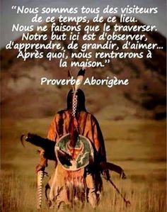 Proverbe aborigène ♥