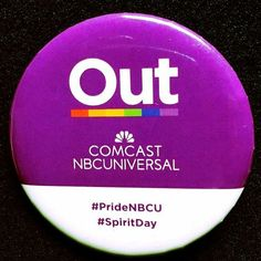 @Regrann_App from @thejerryspringershow -  In honor of #SpiritDay we at #JerrySpringer are wearing purple and these pins to show that we take a stand against bullying. We also want to send a message of solidarity & acceptance for lesbian gay bisexual & transgender (LGBT) youth. #prideNBCU#MMV #BIGLIFE - #regrann