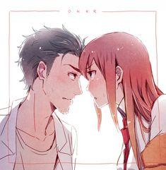 Steins Gate 0, Kurisu Makise, Double Image, Anime Titles, Chinese Cartoon, Anime Recommendations, Girls Together, Samurai Jack, Anime Love Couple