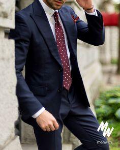 Perfect suit for men #mensfashion #menswear