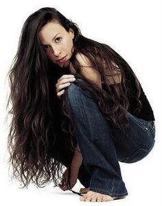 Alanis Morissette. Big hair.