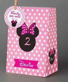 bolsitas de Minnie personalizadas