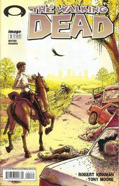 "The Walking Dead 002 Vol. 1 ""Days Gone Bye"" #TheWalkingDead #comic #comics #Free #amc"