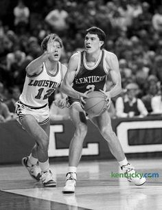 Rex Chapman scored 26 points in the Cats' 85-51 win over U of L Dec. 27, 1986