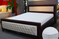 Shop the Brand: Beverly Fine Furniture Bed Headboard Design, Bedroom Bed Design, Bedroom Furniture Design, New Bed Designs, Double Bed Designs, Bedroom Furniture Online, Bed Furniture, Fine Furniture, Bedroom Wall Cabinets