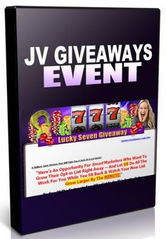 JV Giveaway Events - Video Series (PLR)