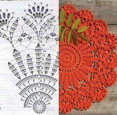 Crochet Lace Pattern Collar 24 Ideas For 2019 – Gabriele horn - Crochet Crochet Scarf Diagram, Crochet Doily Patterns, Thread Crochet, Crochet Motif, Crochet Shawl, Crochet Lace Collar, Crochet Dollies, Crochet Tablecloth, Lace Doilies