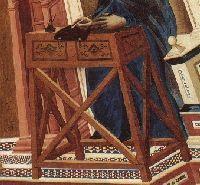 14th century furniture (art details)