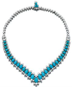 BVLGARI, Turquoise necklace 1970's