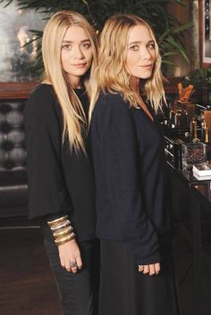 Ashley and Mary-Kate Olsen are nominated for The Accessories Designer of the Year. [Photo by Steve Eichner]