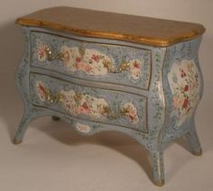 Sicilienne Decorated Commode by Herbillon