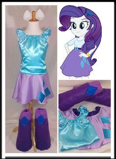 Rarity  https://www.etsy.com/listing/223298012/rarity-my-little-pony-top-skirts-ears