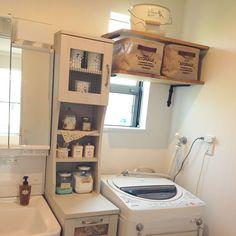 洗濯機上を有効活用する収納アイデア48選☆ | folk (4ページ)
