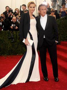 Having a Ball - Charlize Theron and Sean Penn