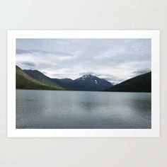 Distant Mountains art print on society6 by @ladysnowangel #naturephotography