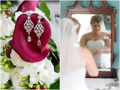 Bride Getting Ready - Berkshire County Fall Wedding - Tricia McCormack Photography