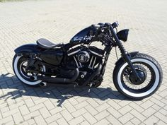Sportster 48, customized with style, me like