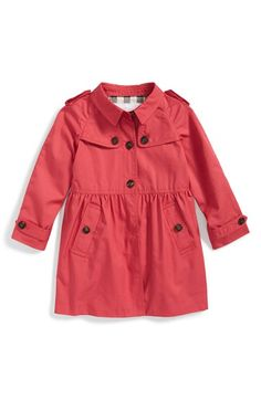 Burberry 'Melody' Coat (Toddler Girls) available at #Nordstrom
