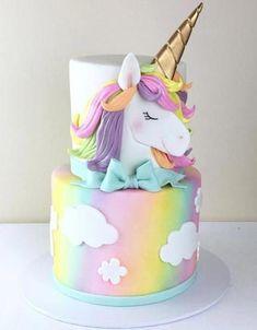 29 Ideas birthday cake girls unicorn for 2019 29 Ideas birthday cake girls unicorn for 2019 Unicorn Themed Birthday, Birthday Cake Girls, Birthday Kids, Unicorn Party, Pink Birthday, Mermaid Birthday, Princess Birthday, Pony Cake, Girl Cakes