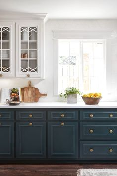 Uplifting Kitchen Remodeling Choosing Your New Kitchen Cabinets Ideas. Delightful Kitchen Remodeling Choosing Your New Kitchen Cabinets Ideas. Home Kitchens, Blue Kitchen Cabinets, Kitchen Remodel, Kitchen Design, Kitchen Space, New Kitchen, New Kitchen Cabinets, Kitchen, Diy Kitchen