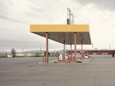 Photographer captures 26 abandoned gasoline stations across America New York Photographers, Gas Station, Wind Turbine, Abandoned, Branding Design, Fair Grounds, America, Photography, Creative