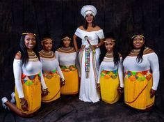 GORGEOUS ZULU DRESSES we have curated enviable styles that show an incredible step up from casual styles, you did have to admit African Fashion Skirts, South African Fashion, African Print Fashion, Africa Fashion, Zulu Traditional Wedding Dresses, African Traditional Wear, African Evening Dresses, African Wedding Dress, African Dress