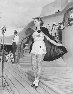 ☆ Very first televised Beauty Pageant held at the World's Fair in 1937 Featured Contestant Betty Broadbent a well-known and Heavily Tattooed Circus Attraction.☆