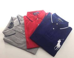 Big pony pique polo shirts by Polo Ralph Lauren Pique Polo Shirt, Polo Shirts, Pony, Polo Ralph Lauren, Big, Mens Tops, Collection, Fashion, Pony Horse