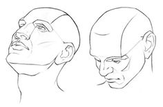 Drawing different Head Angles - Stan Prokopenko Drawing Heads, Human Drawing, Painting & Drawing, Sketch Faces, Art Sketches, Sketch Head, Cartoon Drawings, Art Drawings, Pencil Drawings
