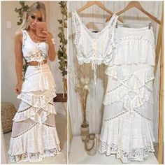 Peplum Tops, Skirt Outfits, Casual Outfits, Tropical Outfit, Prom Dresses, Wedding Dresses, Gypsy Style, Festival Outfits, Holiday Outfits
