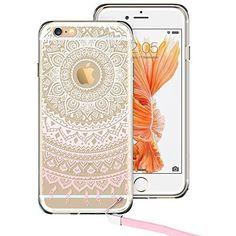 iPhone 6s Case, iPhone 6s Case Clear, iPhone 6s Case Pink, ESR Totem Series Hybrid Case [One Piece] TPU Bumper  Hard PC Back Cover Protective Case for 4.7 inches iPhone 6s / 6(Pink Manjusaka), http://www.amazon.com/dp/B011TG51HU/ref=cm_sw_r_pi_awdm_ZPm2wbTTFZXY8