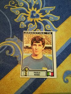 PAOLO ROSSI Italy #112 Argentina 78 D.Novine Panini Yugoslav World Cup 1978 | eBay Football And Basketball, Merlin, World Cup, Albums, Italy, Stickers, Baseball Cards, Argentina, Italia