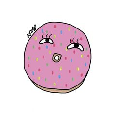 Pinky doughnut. 「ピンキードーナット。」 🍩 #ももいろ#ドーナット#donut#doughnut #art#artwork#artist#draw#draws#drawing#graphic#graphicart##ill#illust#illustration#illustrate#justtim#pattern#pastel#pink#pinky#timnina#sketch#sketching#sketchbook#comic#colour#anime#design#thing