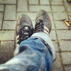 Walking in my shoes