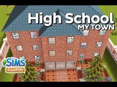 The Sims FreePlay - High School (Original design) - YouTube
