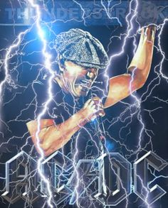 Rock And Roll Bands, Rock N Roll, Brian Johnson, Guns N Roses, High Voltage, Music Posters, Ac Dc, Heavy Metal, Album Covers