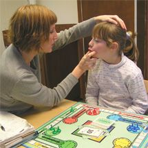 Prompt Method used for children with motor speech disorders, including dysarthria, apraxia, articulation, etc.