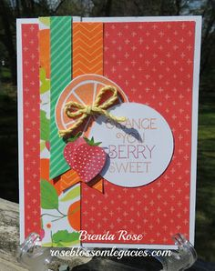 Rose Blossom Legacies: Taste of Summer Card Workshop