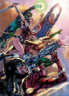 JUSTICE LEAGUE OF AMERICA #1 by BRYAN HITCH