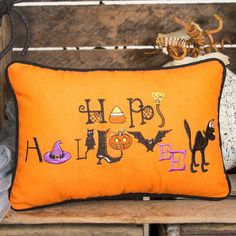 You'll love the Happy Halloween Lumbar Pillow at Wayfair - Great Deals on all Décor & Pillows products with Free Shipping on most stuff, even the big stuff.